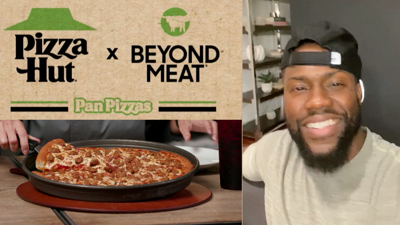 PIZZA HUT'S FIRST TASTE OF VIRTUAL MEDIA EVENTS