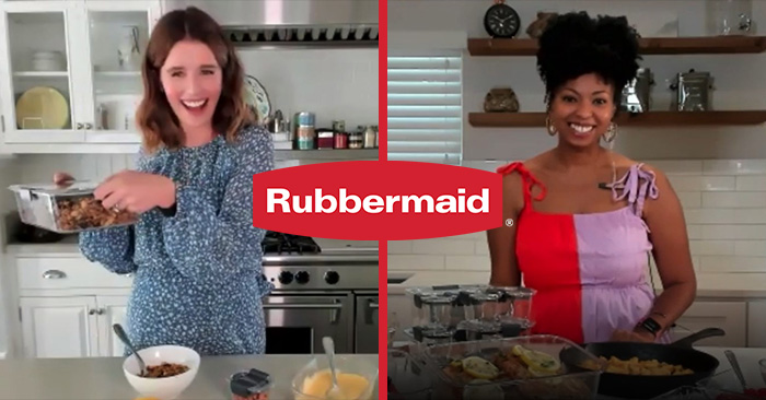 ELEVATING INSTAGRAM LIVE'S PRODUCTION VALUE WITH RUBBERMAID