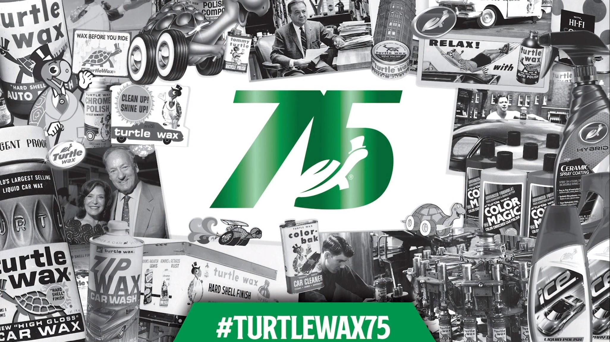 Turtle Wax 75th Anniversary Virtual Celebration